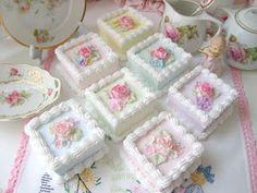 Apple Tea Cake, Cinnamon Tea Cake, Lemon Tea Cake, Deco Cupcake, Cupcake Cookies, Cupcakes, Pretty Birthday Cakes, Pretty Cakes, Beautiful Cakes