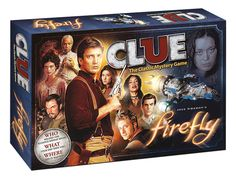 CLUE®: Firefly™ Collector's Edition | Clue Game | USAopoly