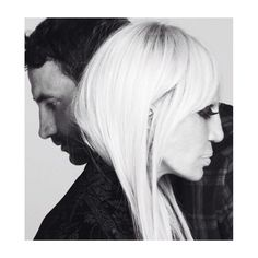 The ultimate icon Donatella Versace for Givenchy Family Campaign shot by Mert and Marcus