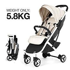 Allis Baby Lightweight PushchairBuy Now. ❥Lightweight design, only Seriously comfortable, with a cleverly compact fold. Peek A Boo window makes it easy and quiet to check on baby. Pushchair Travel System, Travel Stroller, Pram Stroller, Play Gym, Baby Prams, Beige, Grey, Adjustable Legs, Travel