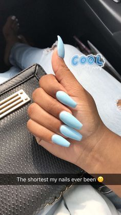 Most Sexy and Trendy Prom and Wedding Acrylic Nails and Matte Nails for this Season - Amately Aycrlic Nails, Dope Nails, Pink Nails, Manicure, Mint Green Nails, Light Blue Nails, Blue Coffin Nails, Matte Nails, Best Acrylic Nails