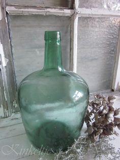 Oude wijnfles