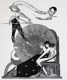 Project 5: Art Nouveau Style Classic Book Cover Inspiration (Harry Clarke)