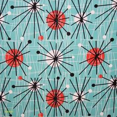 A colourful and bold abstract print. Use it to add a shot of colour to your next project. Orla Kiely Fabric, Marimekko Fabric, Contemporary Fabric, Designers Guild, Japanese Fabric, Fabric Online, Fabric Swatches, Abstract Print