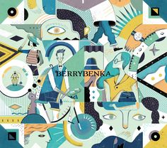 illustration for Berrybenka collector`s edition box 4th year anniversary