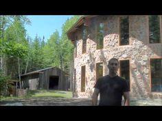 Biobâtir et la maison en bois cordé de Sébastien Demers