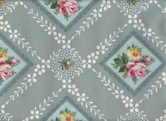 Vintage Blue/Gray Wallpaper - The Graphics Fairy