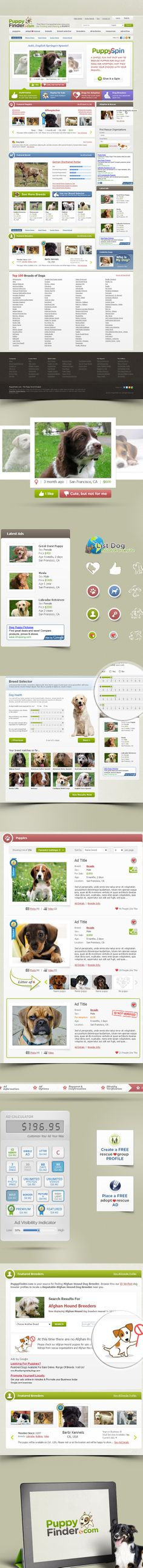 Website for pet business. Dog related website. Created by http://quartsoft.com  #dogs #puppies #design #pets #webdesign #animals