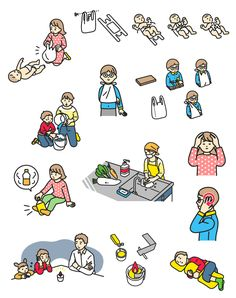 Body Action, Simple Character, Drawing People, Storyboard, Infographic, Snoopy, Comics, House Styles, Drawings