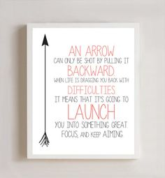 Arrow Definition 8x10 Print by thecrookednook1 on Etsy, $10.00