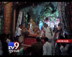 Amid blowing of conch shells and beating of drums, devotees chanted 'Hare Krishna Hare Rama' and 'Govinda ala re' as religious fervour gripped the state on Janmashtami, marking the birth of Lord Krishna. Devotees thronged decked-up temples since early morning to offer prayers and took out colourful processions.  Subscribe to Tv9 Gujarati https://www.youtube.com/tv9gujarati Like us on Facebook at https://www.facebook.com/tv9gujarati
