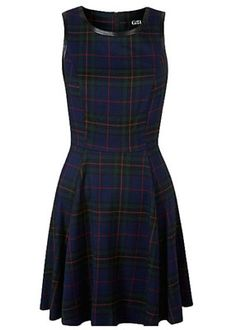 1950s-inspired G21 tartan skater dress by George at Asda