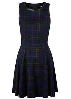 1950s-inspired G21 tartan skater dress by George at Asda