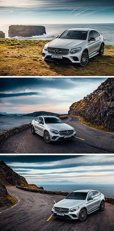 The sports car among Mercedes-Benz's mid-size SUVs: The Mercedes-Benz GLC-Coupé. Photos by Kai Bernstein (www.kaibernstein.de) for #MBsocialcar