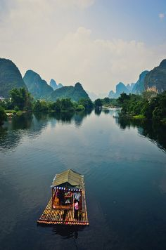 Yangshou, China. Take me right there. - Double click on the photo to get or sell a travel itinerary to #China