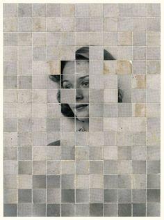 Portraits, mosaïques et collages par Anthony Gerace Collages, Photo Vintage, Collage Art Mixed Media, Portraits, Medium Art, Multimedia, Les Oeuvres, Digital Art, Abstract