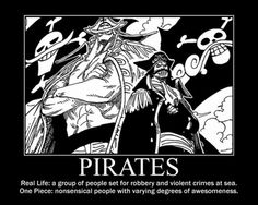 Real Pirates vs. One Piece Pirates