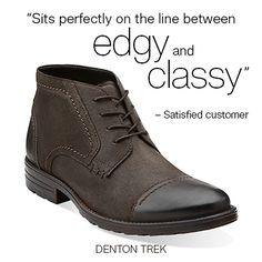 Denton Trex | #clarks | #fallstyle | #boots