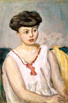 "Pierre Bonnard ""Young Woman"""