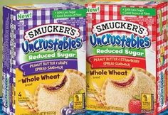 Vegan and great for the kids! Smuckers Uncrustables, Picnic Lunches, Snack Recipes, Snacks, Food Cravings, Pop Tarts, Giveaways, Believe, Packing