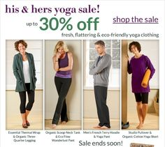 His & Hers Yoga Sale Now At Gaiam