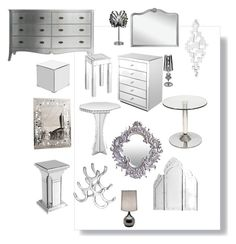 """""""Accessorise with Silver"""" by serendipityhome on Polyvore featuring interior, interiors, interior design, home, home decor and interior decorating"""