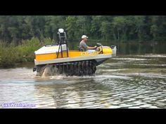 Hydratrek 6x6 Amphibious Vehicle - YouTube