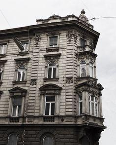 Graz, Austria Looking Up, Places To Travel, Facade, Around The Worlds, Graz Austria, Architecture, Building, Instagram Posts, Beautiful