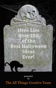 Over 100 of the best ideas for Halloween all in one place.  |  All Things Creative