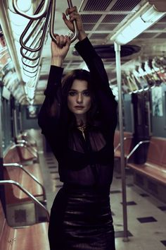Rachel Weisz wearing glam looks styled stars in Violet Grey magazine Photoshoot