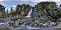 Kmeť's Waterfall - Slovakia's highest waterfall (80 m high).