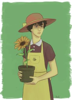 http://vilonal.tumblr.com/post/145010306468/florist-au-for-femlock-friday (27 may 2016)