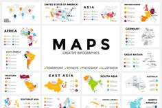 MAPS - Free Updates by TheSeamuss on @creativemarket