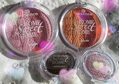 #LE #Essence коллекция Home Sweet Home: румяна и тени