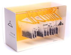 possibly the coolest packaging ever. it's tea, y'all.