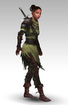 Green Mercenary by Jack Jones on ArtStation.