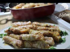 Beyaz lahana Sarmasi en lezzetli nasil yapilir? | Sebze yemekleri | Dolmalar - YouTube