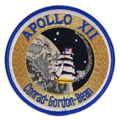 Apollo 12 was the world's second manned lunar landing. The flight demonstrated the spacecraft's pinpoint landing capability, touching down within 600 feet of the Surveyor 3 spacecraft. The Surveyor 3 Apollo Space Program, Nasa Space Program, Nasa Missions, Apollo Missions, Space Patch, Nasa Patch, Nasa History, Moon Landing, Our Solar System