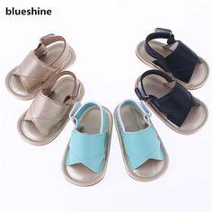 2017 Verão Suave Sole Newborn Primeiro Walkers Batismo Bebê Sapatos, PU Zapatos de Couro Da Criança Do Bebê Sapatos menino