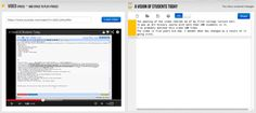 Free Technology for Teachers: Best of 2013 So Far...VideoNotes (looks great for using in flipped classrooms when students watch videos at home)