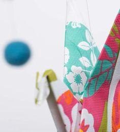 Pajaritas colores. Handmade Mobiles. www.mariquetevi.com