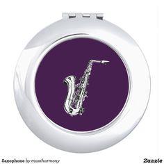 Saxophone Mirror For Makeup