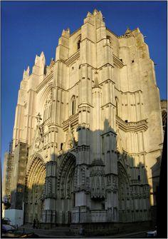 Cathédrale Saint Pierre-Saint Paul de Nantes. Pays-de-la-Loire