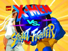 X-Men vs. Street Fighter Review: X-Men vs. Street Fighter is a fighting game. It has been released as a coin-operated arcade game in 1996. It is the Capcom's 3rd fighting game to feature Marvel Comics characters and the first to match them against their own, with the various characters from Marvel's X-Men franchise being matched against cast from Street
