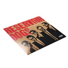 Reservoir Dogs Original Motion Picture Soundtrack LP - If you're gonna get a turntable, you need something badass to play. This is a pefect sound track because it features K. Billy's Super-DJ, Steven Wright.
