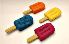 Felt popsicles...get 'em while it's HOT by HeartFeltPlayFood