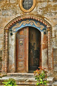 Door, Greek House Hotel, Mustafapasa; Cappadocia