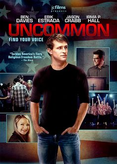 Checkout the movie Uncommon on Christian Film Database: http://www.christianfilmdatabase.com/review/uncommon-2/