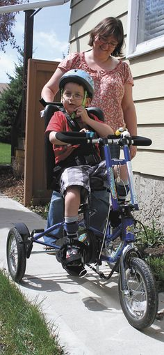 Bikes For Toddlers With Cerebral Palsy My Daughter Adaptive Bike