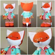 Купить Весенние лисички - рыжий, оранжевый, лиса, лис, лисичка, лисички, хитрый, гномушка